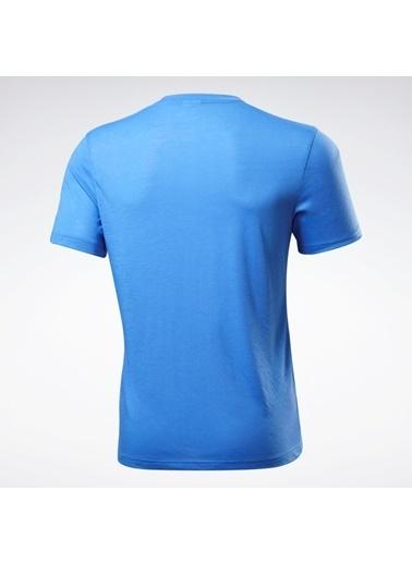 Reebok Graphıc Serıes Speedwıck Tışört Mavi